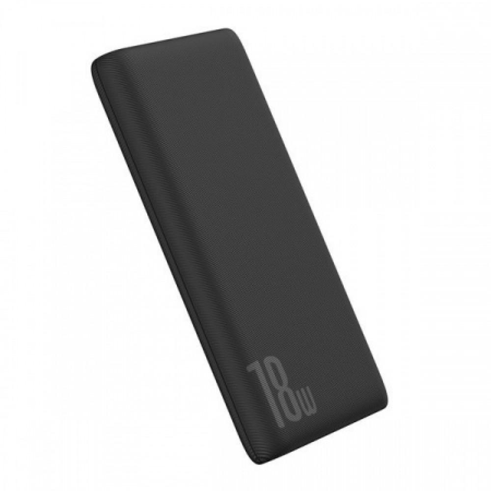Power Bank 10000 mAh BASEUS Bipow PD+QC 18W (black)