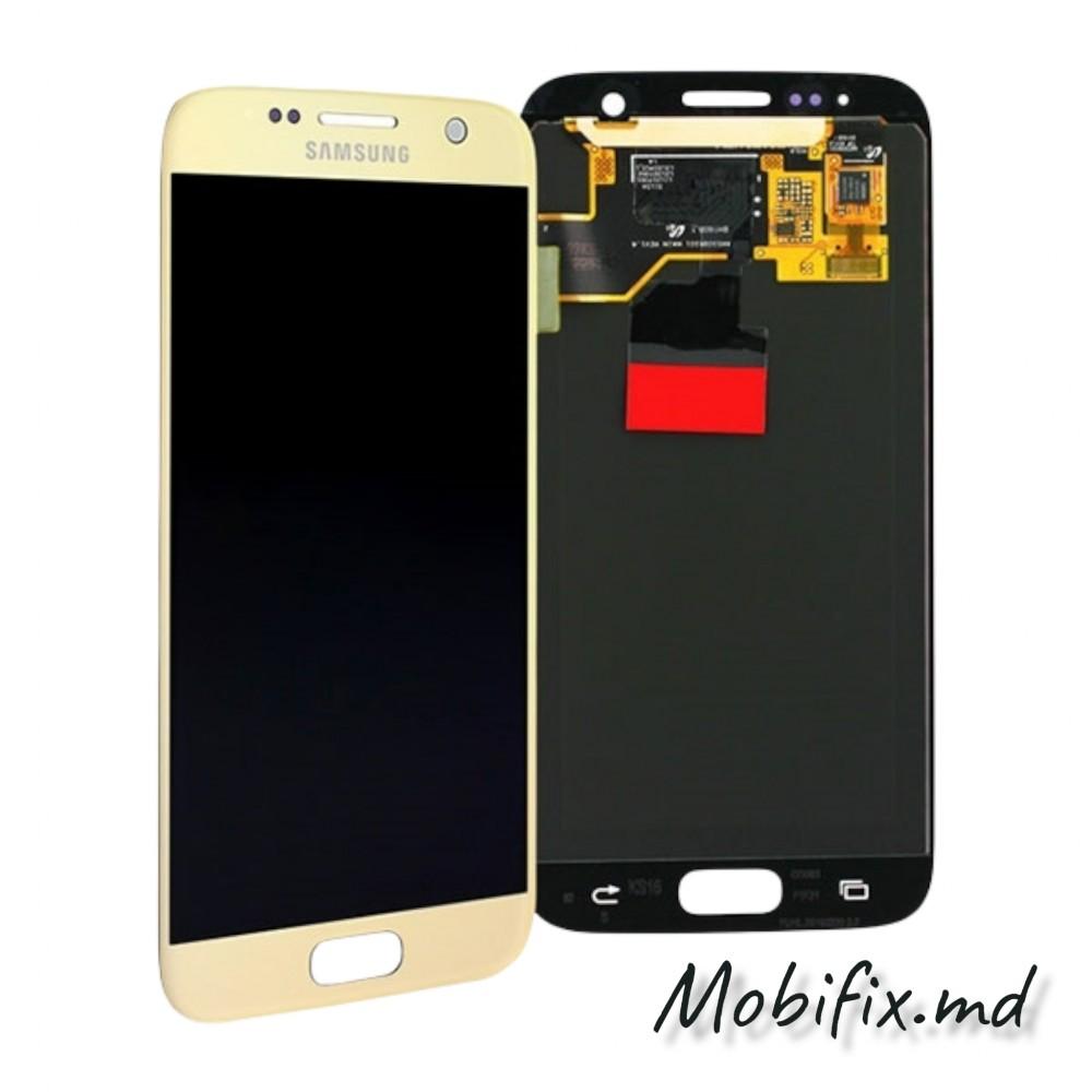Дисплей Samsung S7 G930, золотой