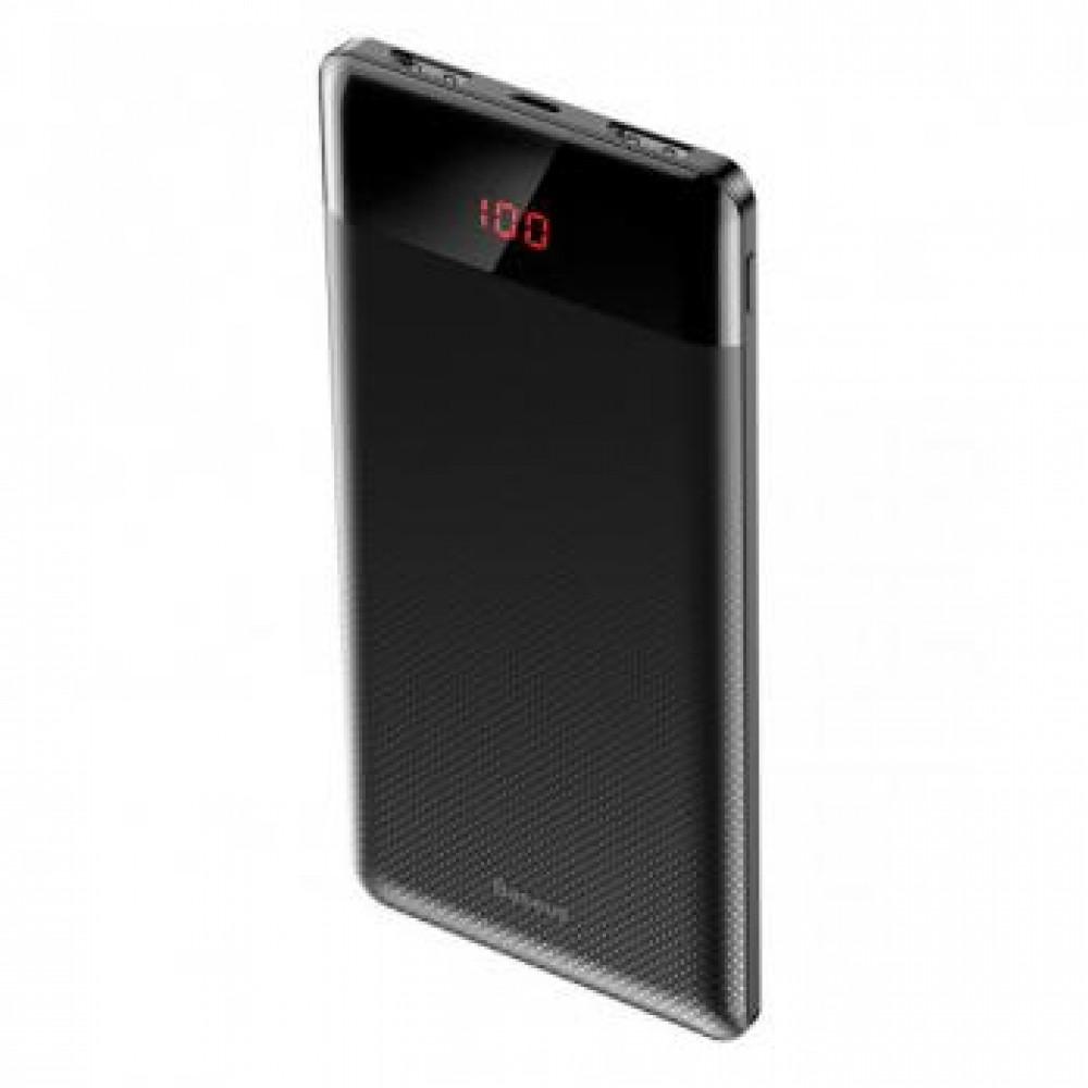 Power Bank 10000 mAh BASEUS Mini Cu Display • Black