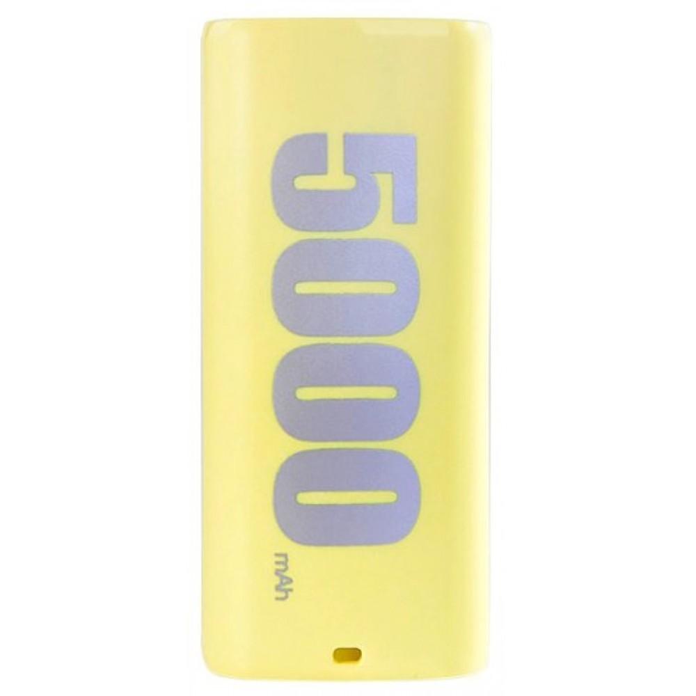 Power Bank 5000 mAh REMAX E5 Serias Yellow