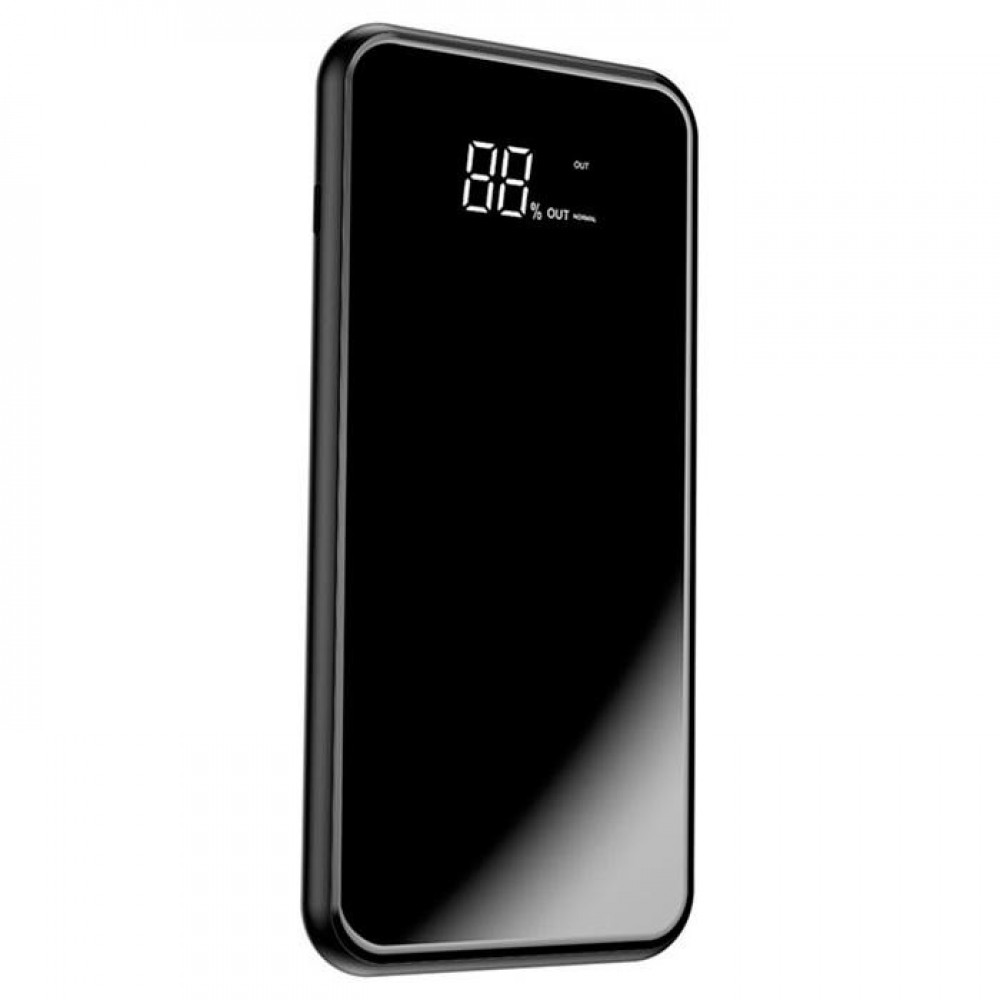 Power Bank 8000 mAh BASEUS Full Screen Wireless Black