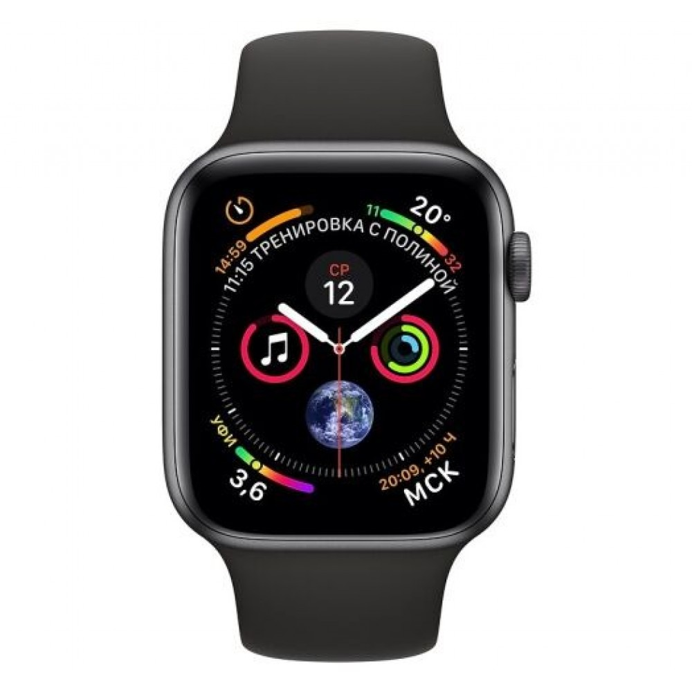 Apple Watch 4 Series  44mm Space Gray • Новые